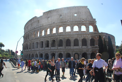 Colosseum makeover to be completed next week