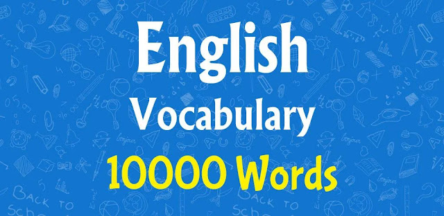 تحميل تطبيق Learn English Vocabulary  تطبيق سريع وسهل لتعلم مفردات اللغة الإنجليزية لنظام الاندرويد