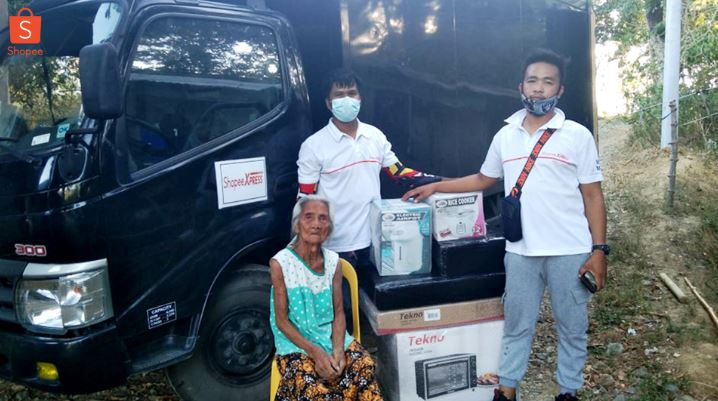 Shopee extends help to Lola who accidentally burned her P14K life savings