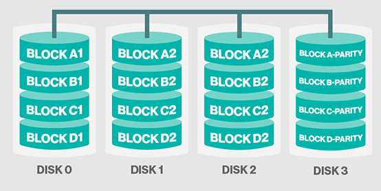 Which Raid Level Accomplishes Disk