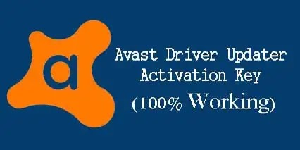 Avast driver updater activation key free 2021