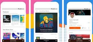 aplikasi pemutar musik di android  terbaik & gratis - online & offline- sound cloud