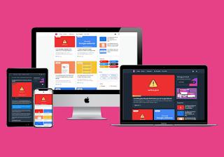 Download free Arlina Code Premium Blogger Template