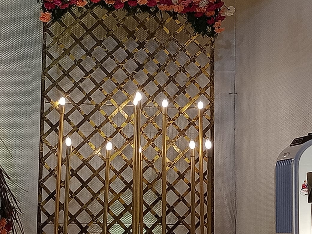 stage decoration Light Kerala