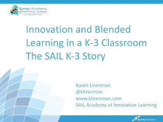 The K-3 SAIL Story