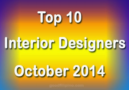 October 2014 Interior Design (ID) Board Exam Top 10 Board Passers