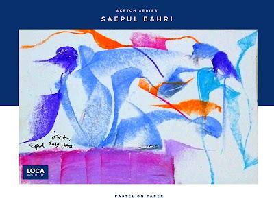 Karya saepul bahri sketch 3