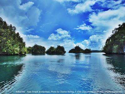 Kabui bay of Waigeo island