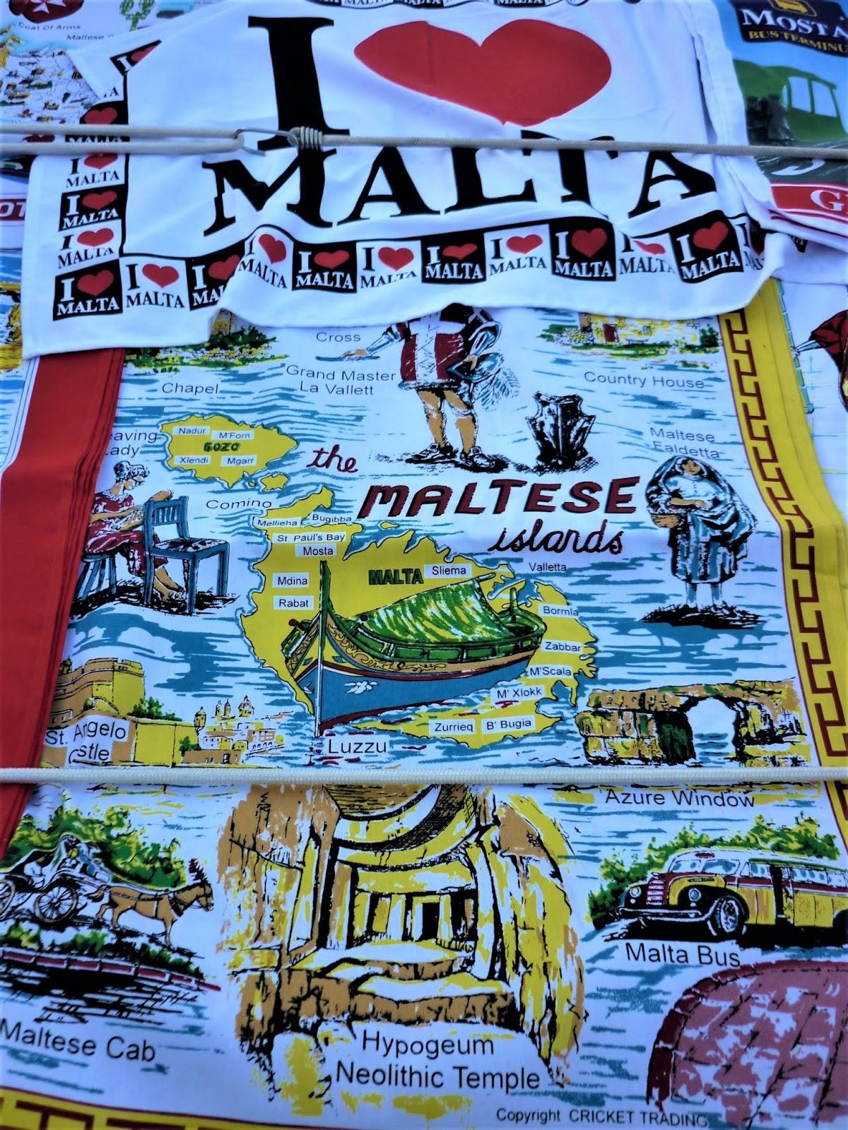 Souvenirs maltesi