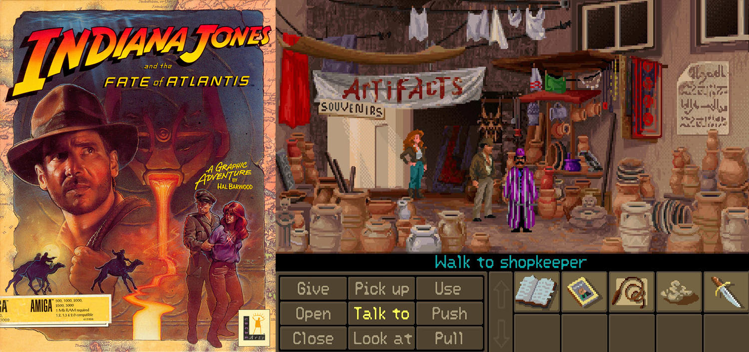 indiana jones fate atlantis avventura 1992