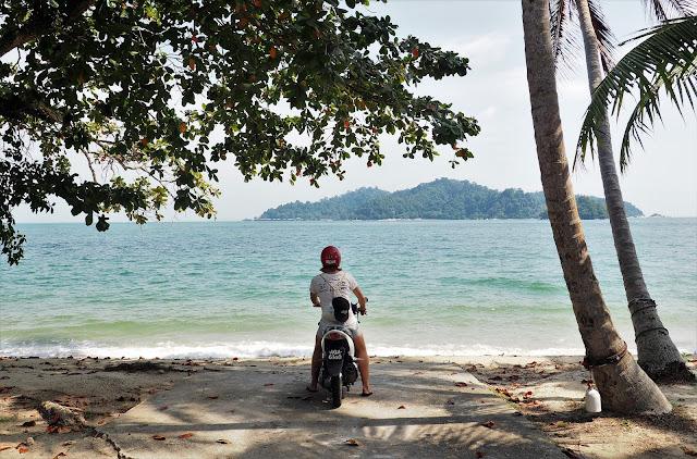 Roller auf Pangkor