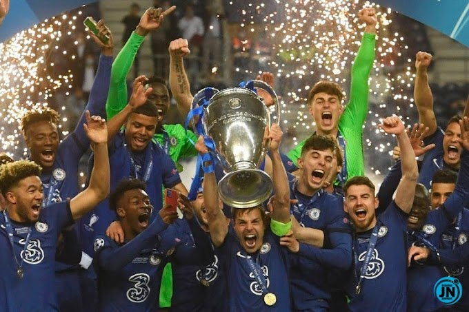 BREAKING NEWS: Chelsea Beat Man City To Win 2nd Champions League Title