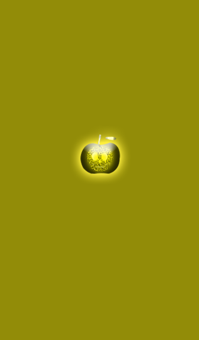Yellow Skull Apple