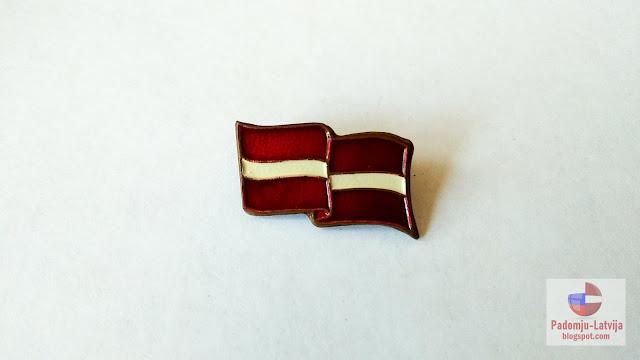 zetons latvijas karogs