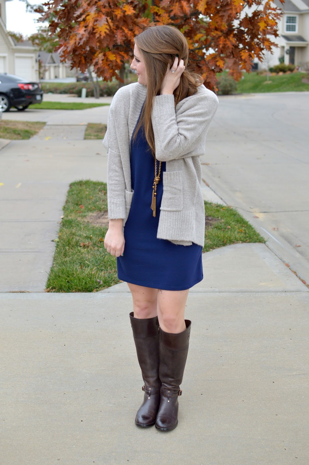 gray monroe sweater review