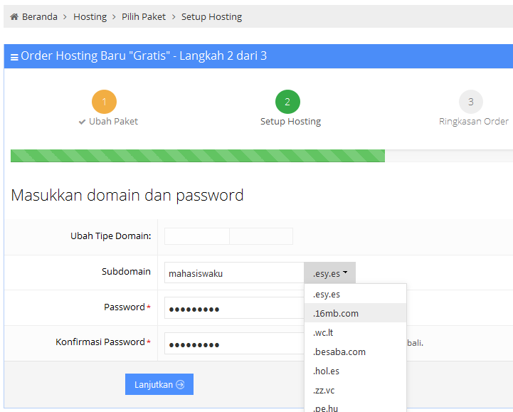 Cara Upload File Web dan Database Mysql di Idhostinger