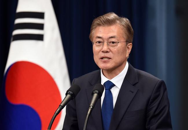 Tinuku South Korean President's anti-nuclear faces backlash