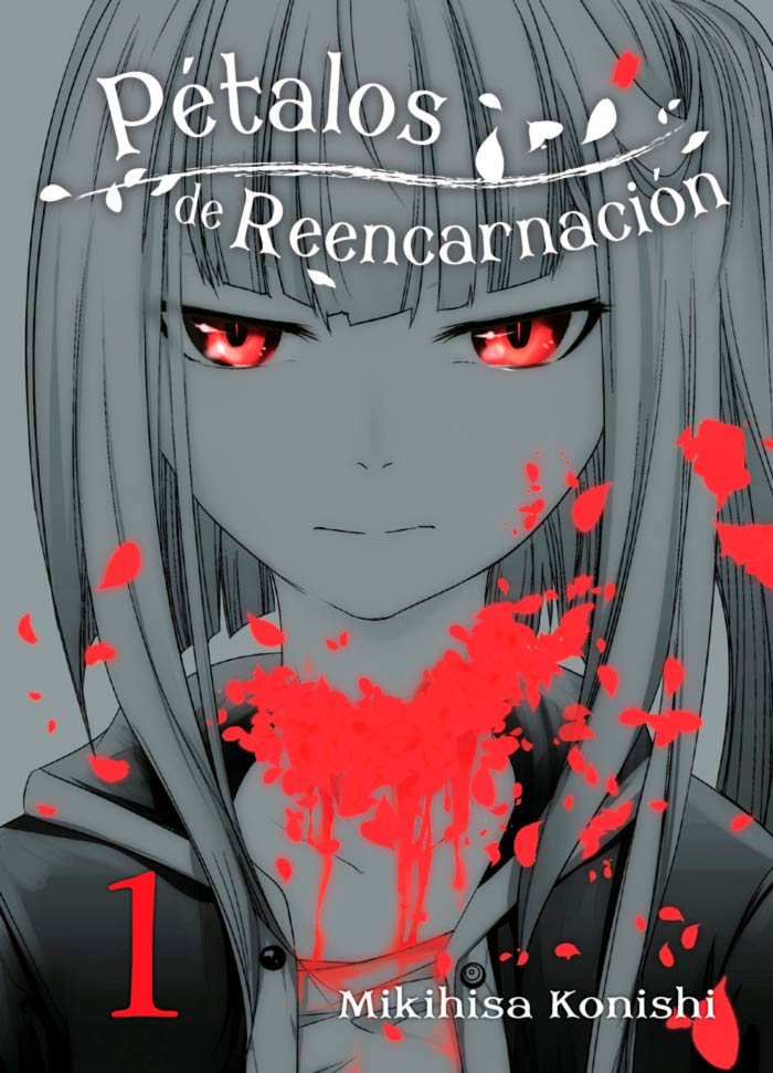 Pétalos de reencarnación (Reincarnation no Kaben) manga - Mikihisa Konishi - Editorial Hidra