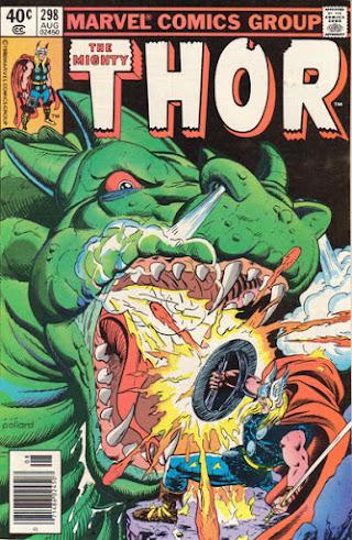 Thor #298, Siegfried vs Fafnir