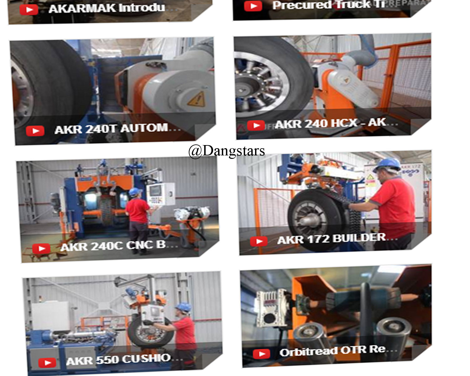 Business Introduction for Tyres Retreading Equipment by Akarmak - Turkey