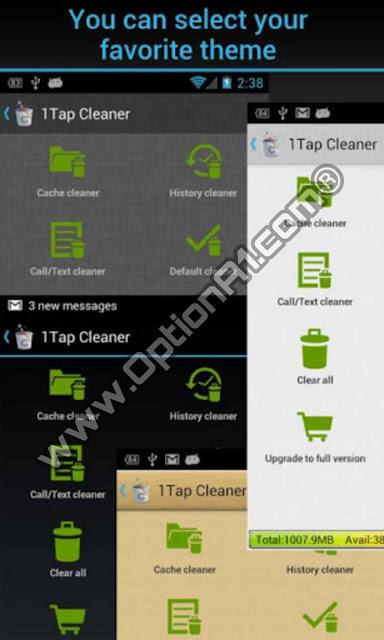 تحميل برنامج 1Tap Cleaner Pro للاندرويد الاصدار المدفوع