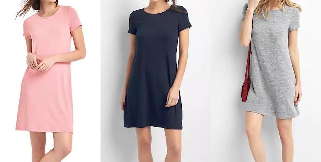 Gap Softspun Short Sleeve T-Shirt Dress $36 (reg $60)