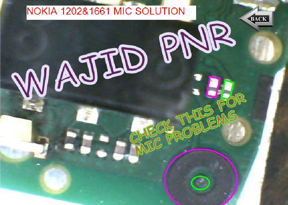 Nokia 1202 1203 Mic Problem Jumpers Solutions Ways Not Working