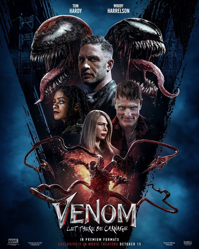 Download Venom: Let There Be Carnage (2021) {English Cam Audio} HD-CamRip || 480p [250MB] || 720p [1.6GB]