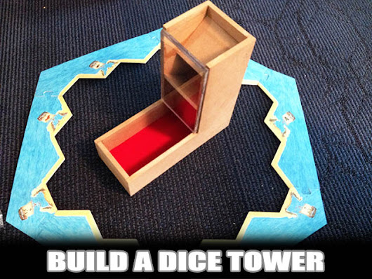 Build a DIY Dice Tower