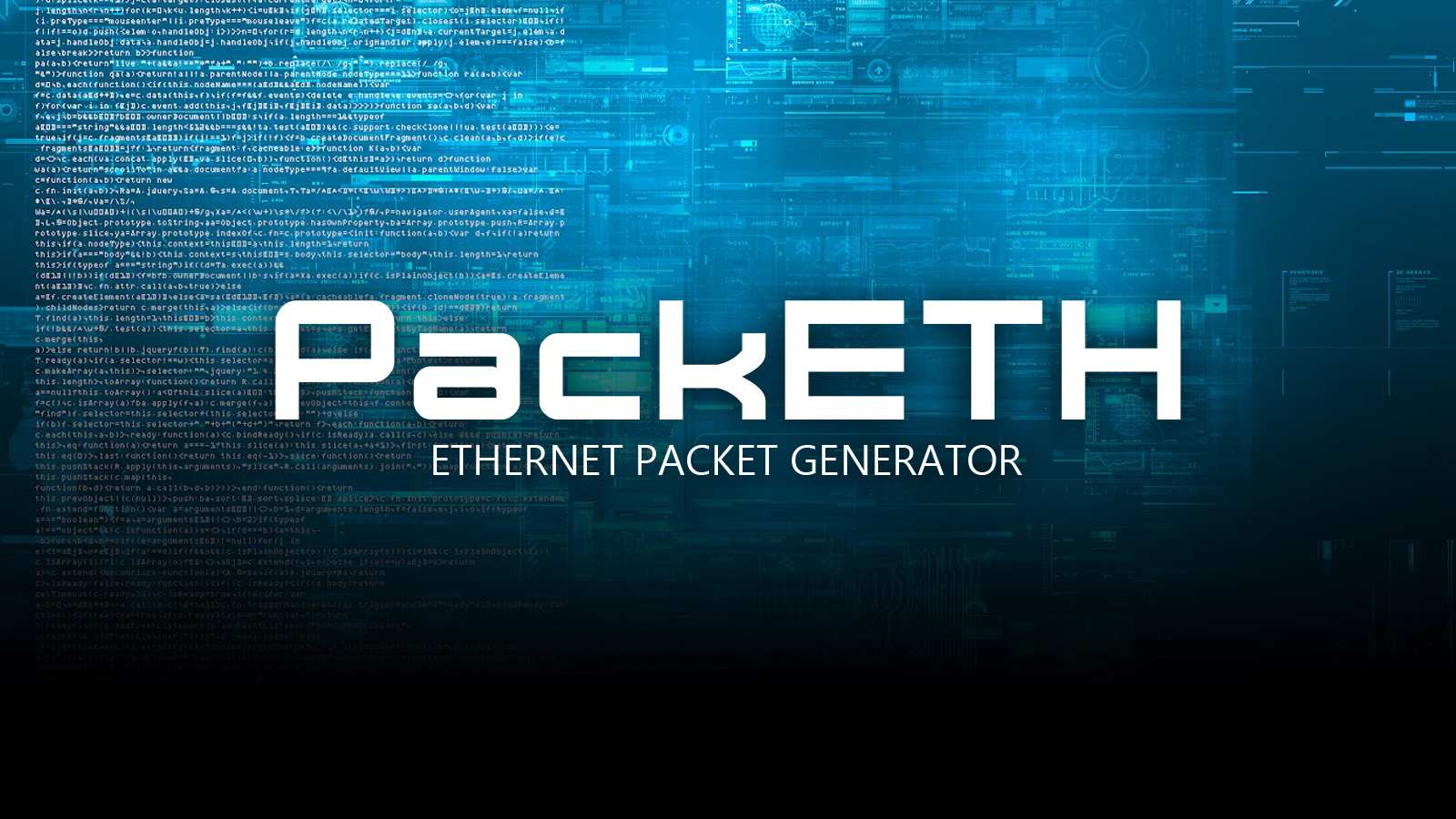 PackETH - Ethernet Packet Generator
