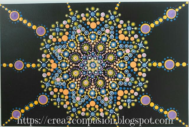 Mandala-puntillismo-cuadro-Crea2conPasión