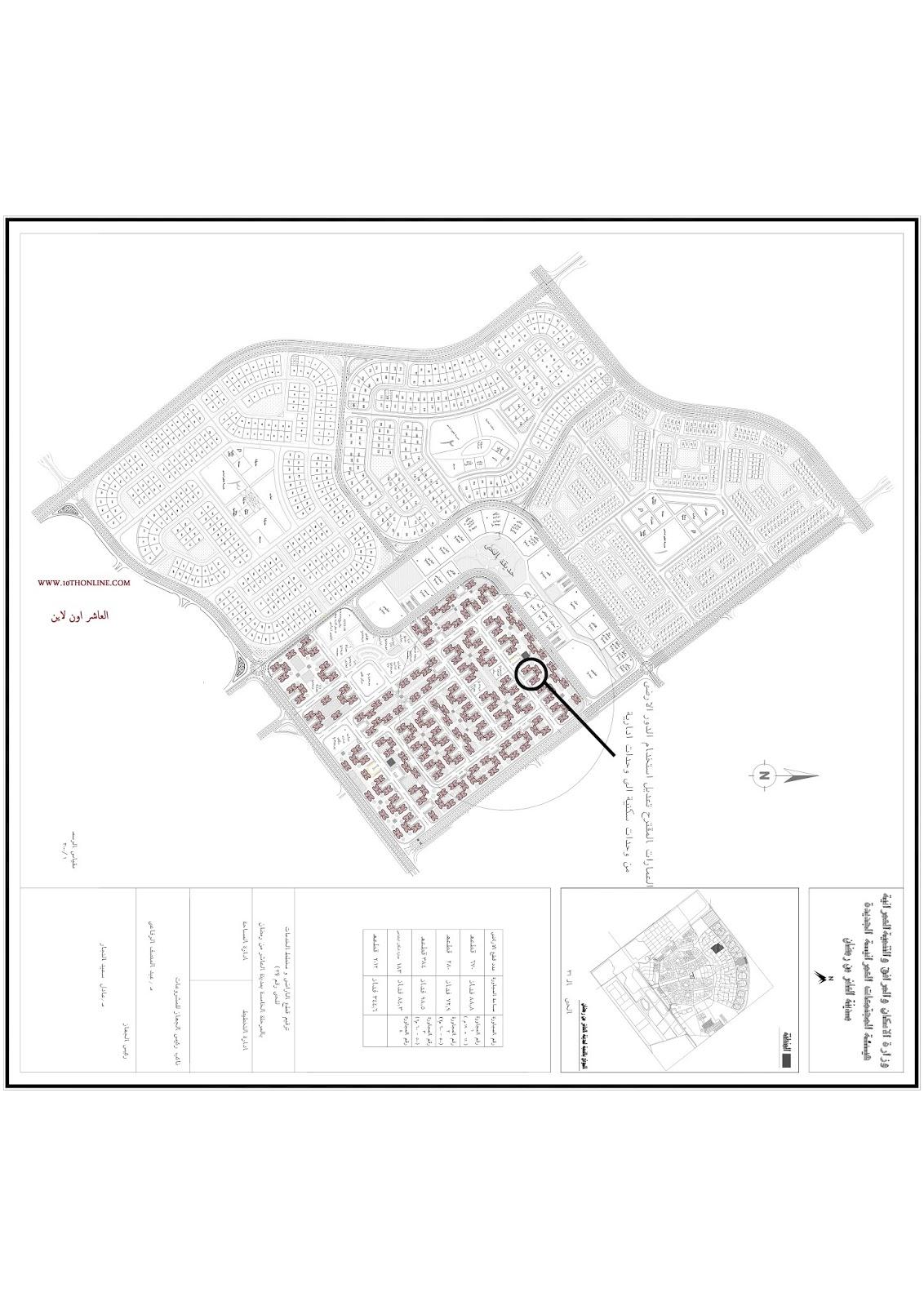 خرائط مدينة العاشر من رمضان Pdf