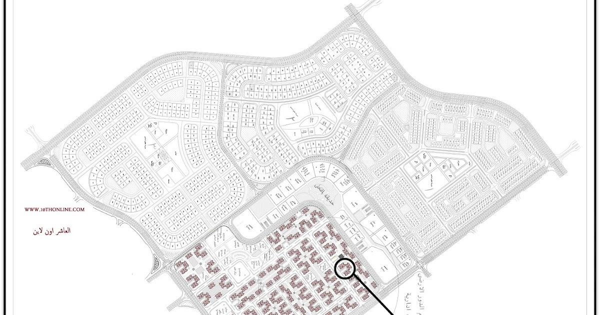 خريطة الحى 31 بالعاشر من رمضان العاشر اون لاين