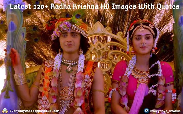 Latest 120+ Radha Krishna HD Images With Quotes | Everyday Whatsapp Status