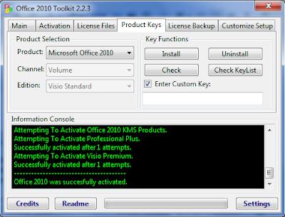 Cara Mengatasi Tidak Bisa Aktivasi Microsoft Visio Standard 2010