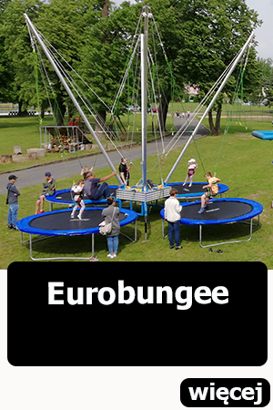 Euro bungee eurobungee wrocław dmuchańce
