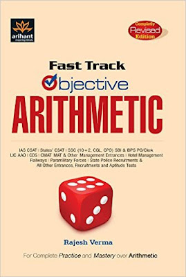 Download Free Fast Track Objective Arithmetic by Rajesh Verma Book PDF