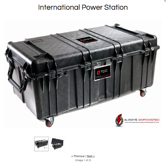 Solar & Wind Powered Portable Generators from Rowland Scherman