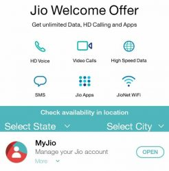 How to Generate Jio Welcome Offer Bar code on My Jio App [Latest App