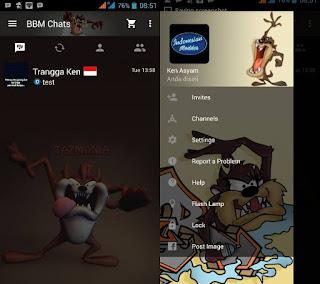 BBM Mod Tazmania Devil
