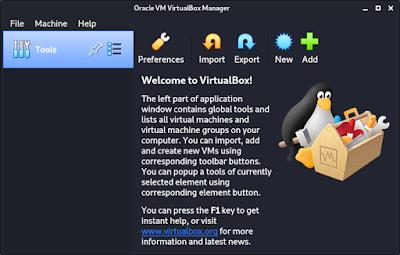 VirtualBox Installed in Kali Linux