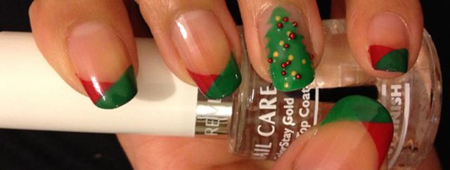 Melhores unhas decoradas natal 2014