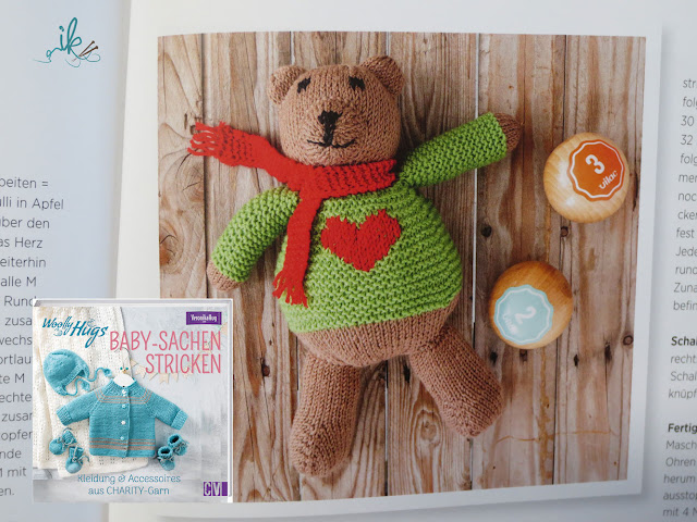 Woolly Hugs Baby-Sachen stricken Veronika Hug