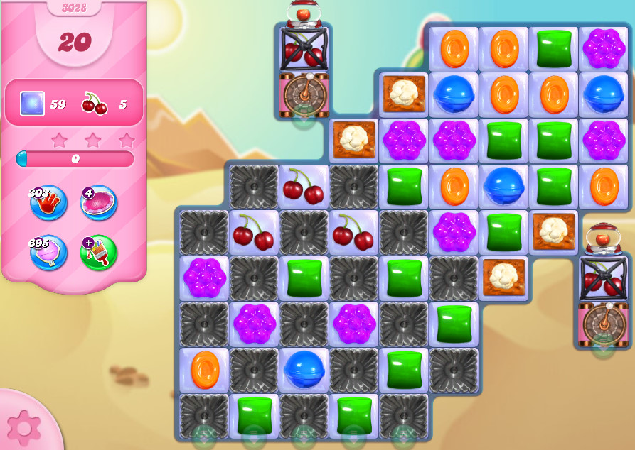 Candy Crush Saga level 3028