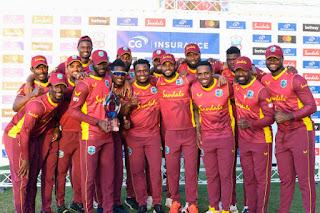 Sri Lanka tour of West Indies 3-Match ODI Series 2021