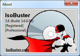IsoBuster 3.9 Serial Key
