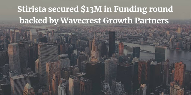 Stirista secured $13M in Funding round backed by Wavecrest Growth Partners