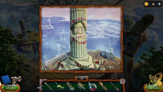 разваленная колонна в игре затерянные земли 4 скиталец
