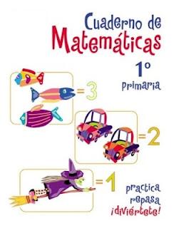 Carátula matemática primero primaria