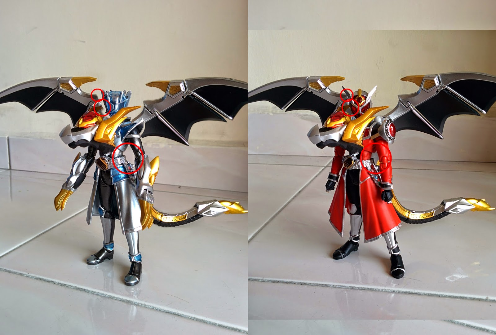 [Tutorial] Creating SHF Kamen Rider Wizard Infinity Dragon ...